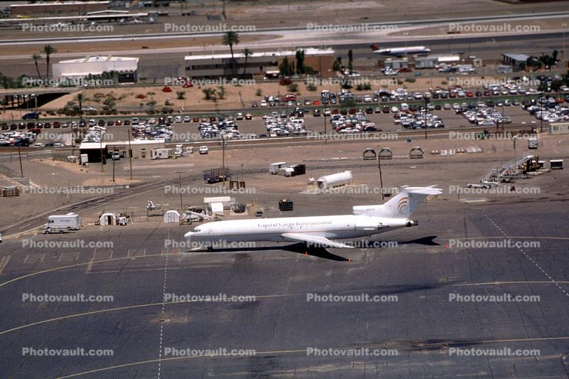 N287SC, Boeing 727-2A1F, Capital Cargo International, Sky Harbor, JT8D-17 s3, JT8D, 727-200 series
