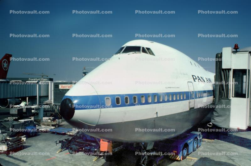 N654PA, Boeing 747-121, Clipper White Wing, 747-100 series, Pan American World Airway PAA