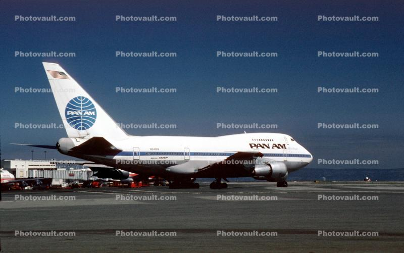 N540PA, Boeing 747-SP21, Pan American Airways PAA, Clipper Star of the Union, (SFO), 747SP