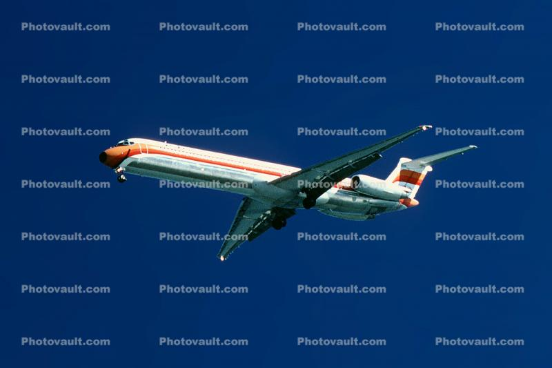 PSA, Pacific Southwest Airlines, Douglas DC-9, San Francisco International Airport (SFO)