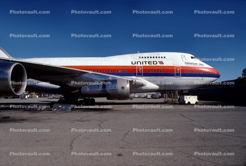 N147UA, Boeing 747-SP21, Friendship One, Around the World Speed Record, 747SP series, JT9D-7A, JT9D