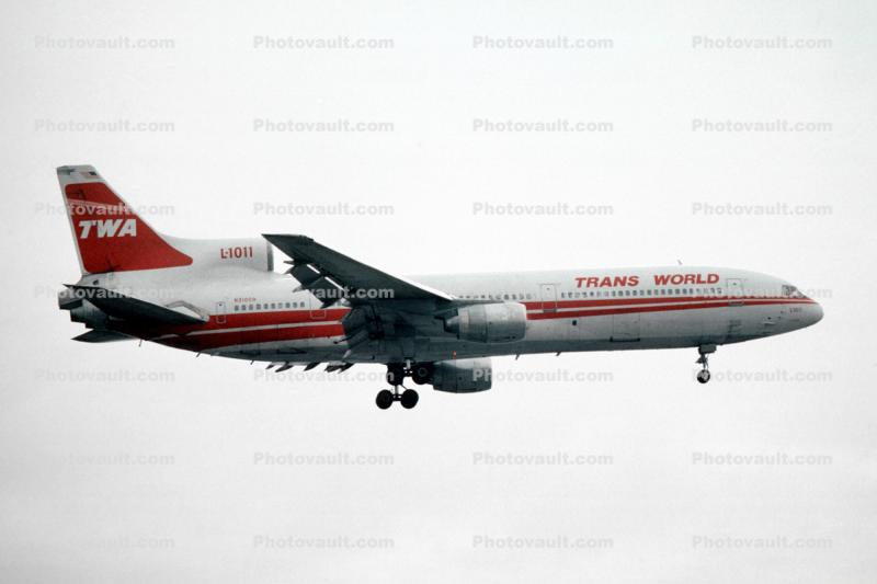 N31009, Trans World Airlines TWA, Lockheed L-1011-385-1, RB211