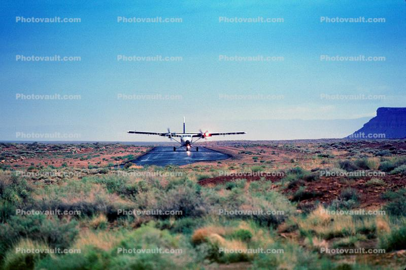 N147SA, DHC-6-300 Twin Otter, Scenic Airlines, Marble Canyon Landing Strip, Arizona, PT6A-27, PT6A