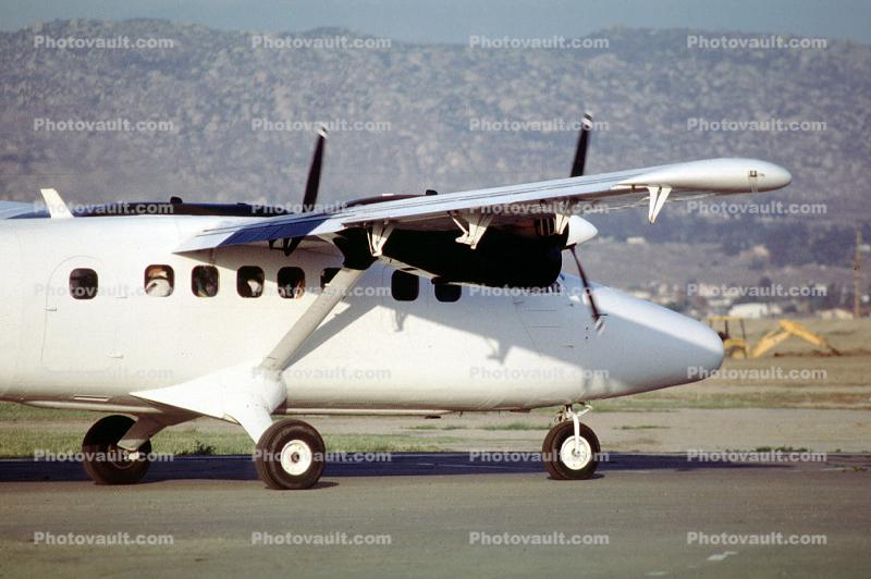 De Havilland DHC-6 Twin Otter, P&W Canada PT6A-60A, N64150, Perris Valley Airport, PT6A