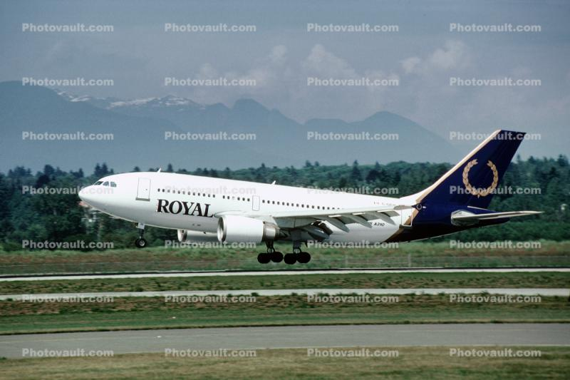 C-GRYA, Airbus A310-325, Royal Airlines ROY, CF6-80C2A2, CF6