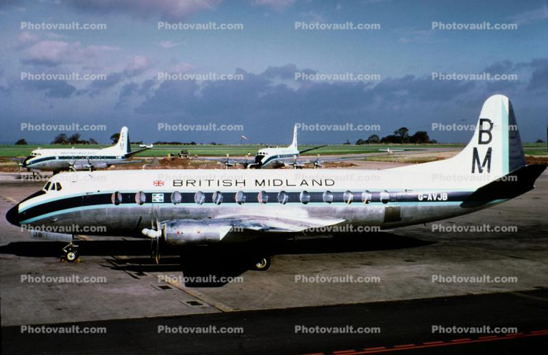 G-AVJB, Vickers Viscount 815, British Midland