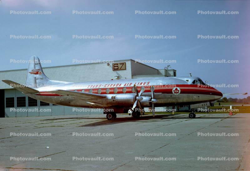 CF-THI, Vickers 757 Viscount