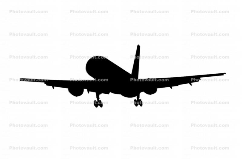 Boeing 757-200 silhouette, shape, logo Images, Photography