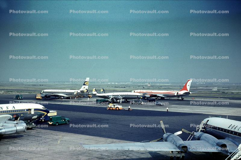 Lockheed Constellation, Lufthansa, BOAC