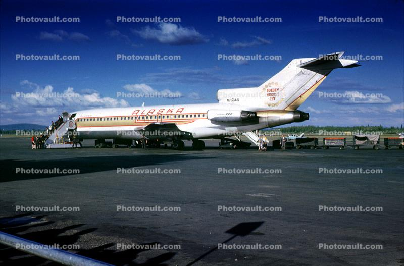 N766as Golden Nugget Boeing 727 090cq Alaska Airlines