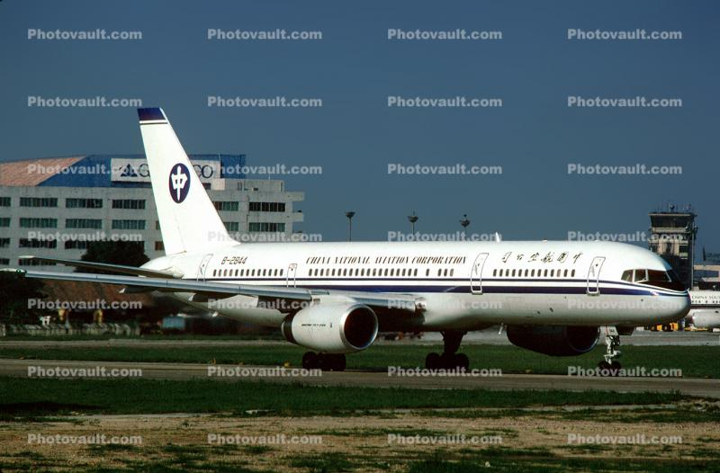 B-2844, China National Aviation Corporation, Boeing 757-2Z0, RB211, RB211-535 E4