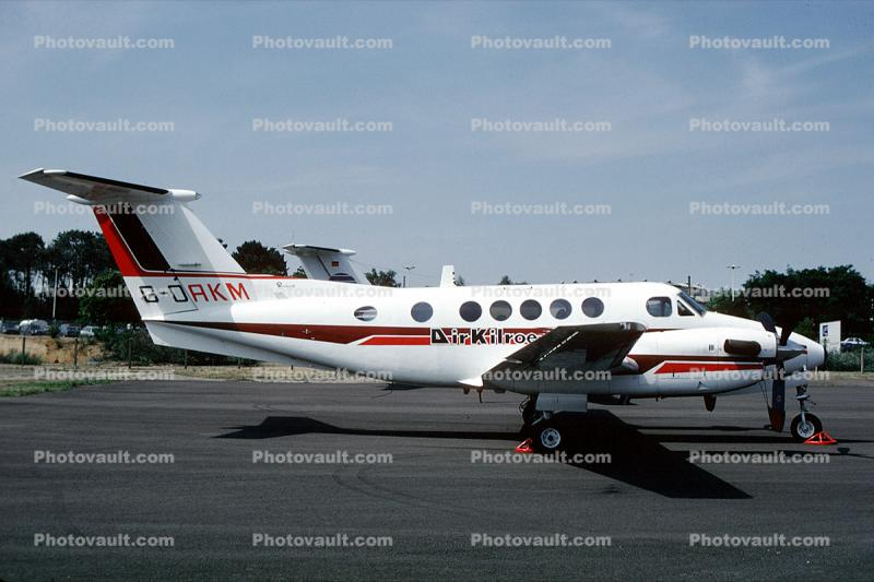G-DAKM, Beech 200 Super King Air