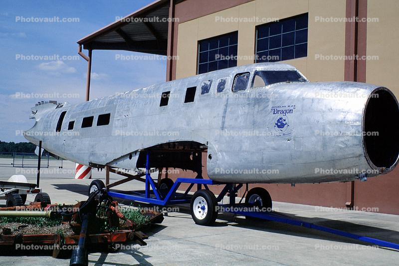 Douglas B-23 Dragon, aluminum fuselage, The Dragon Masters