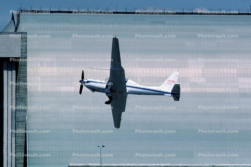 Lockheed YO-3A, Quiet Star, NASA, silent airplane, propeller