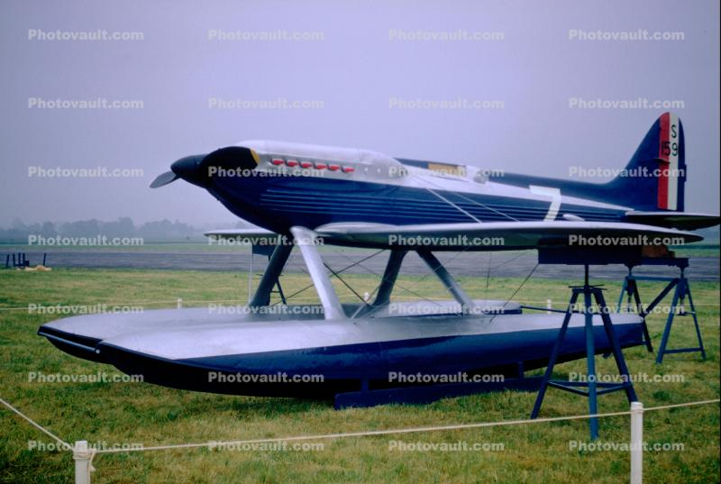 Supermarine S.6B, British racing seaplane, Race floatplane, S1596, Experimental aircraft, racer, 1940's, milestone of flight