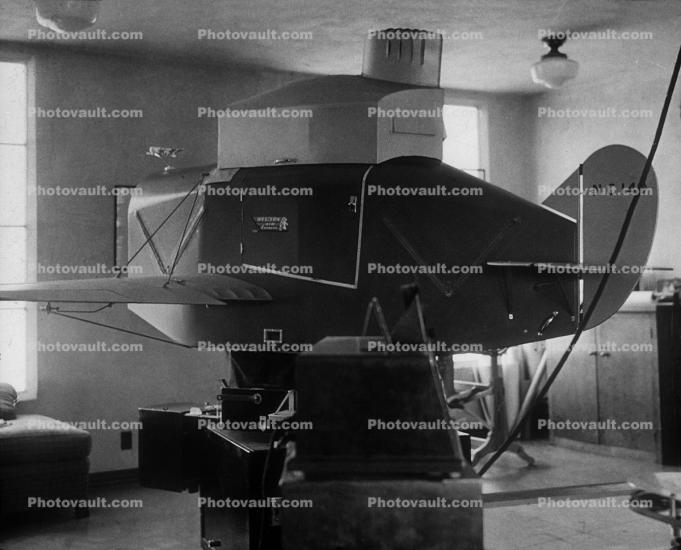 Perry Link Trainer, Simulator, 1930s, 1950s