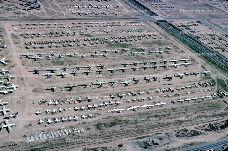 AMARG, Davis Monthan Air Force Base, AFB, Tucson, Arizona