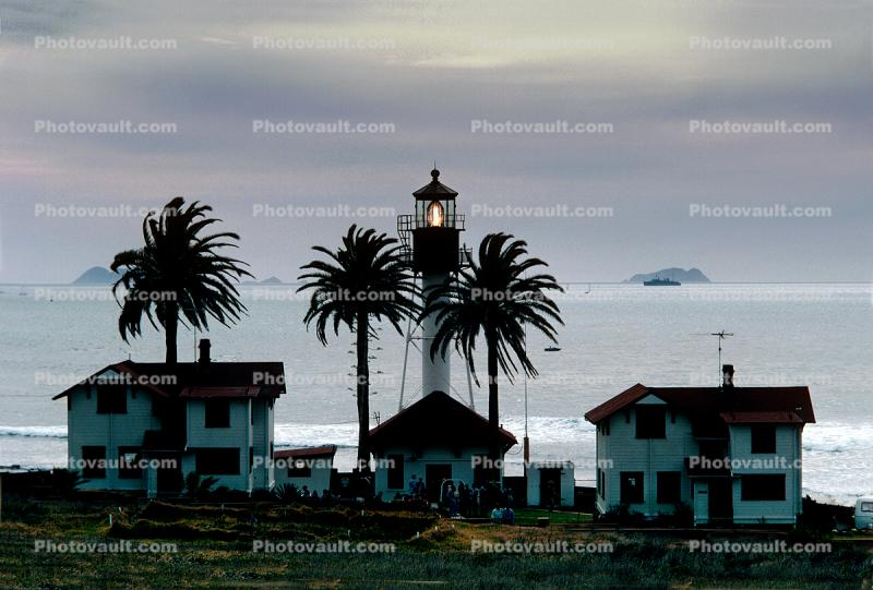 New Point Loma Lighthouse, California, West Coast, Pacific Ocean