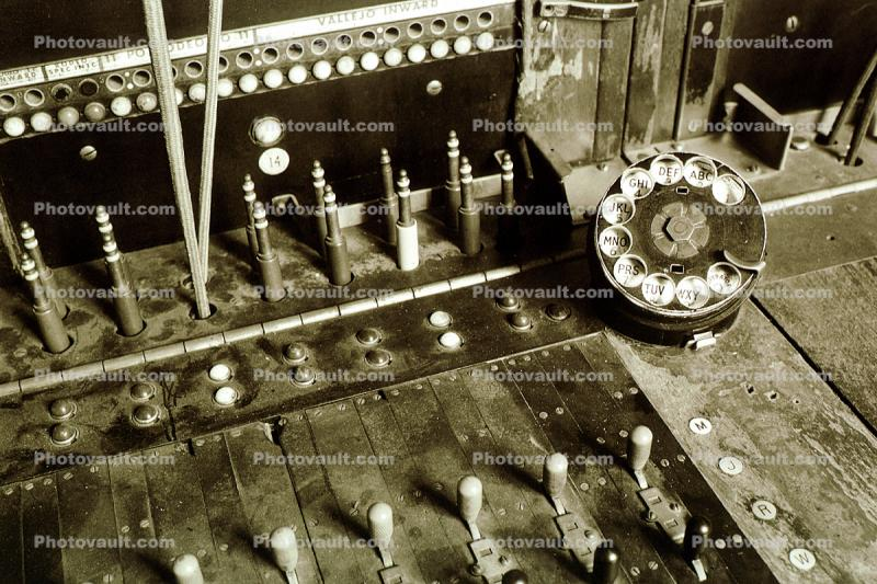 Rotary Dial, Switchboard, Patch Bay