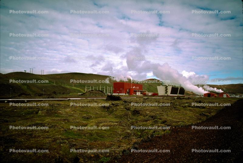 Geothermal Power, Steam Powerplant