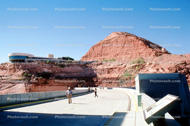 Visitor Center, building, Glen Canyon Dam, Page, Arizona