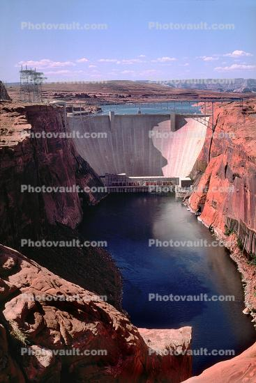 Glen Canyon Dam, Page, Arizona, USA