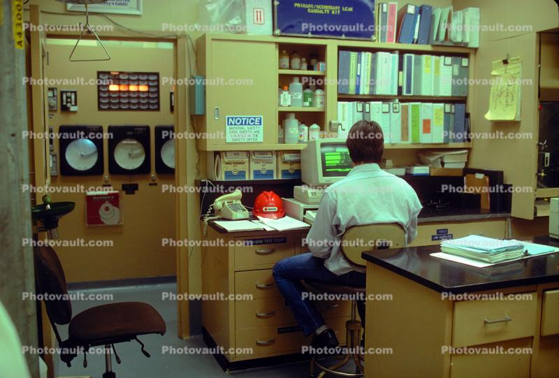 Control Room, Rancho Seco Nuclear Power Plant