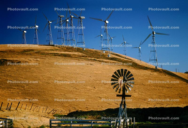 Eclipse Windmill, Wind farms, Altamont Pass