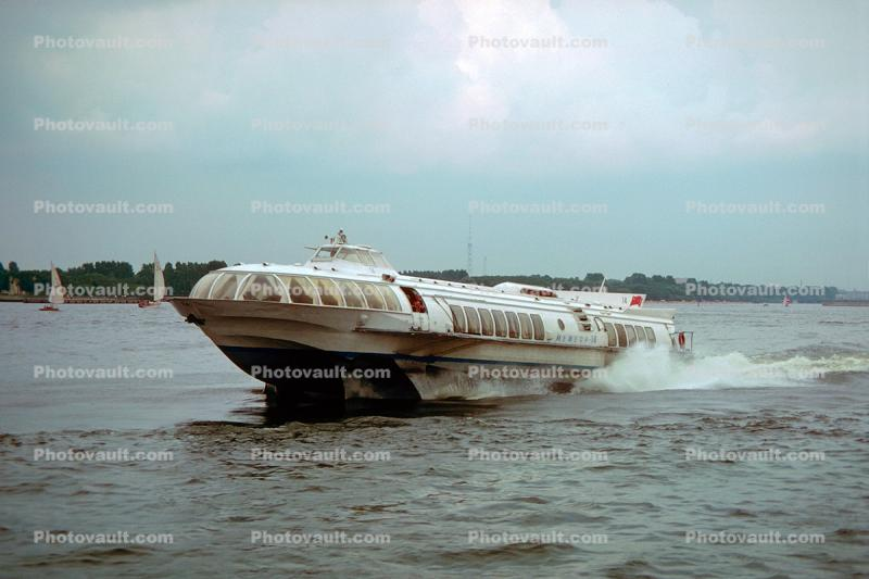 KOMETA Hydrofoil, (Project 342ME), Passenger Ferry, St. Petersburg, Russia