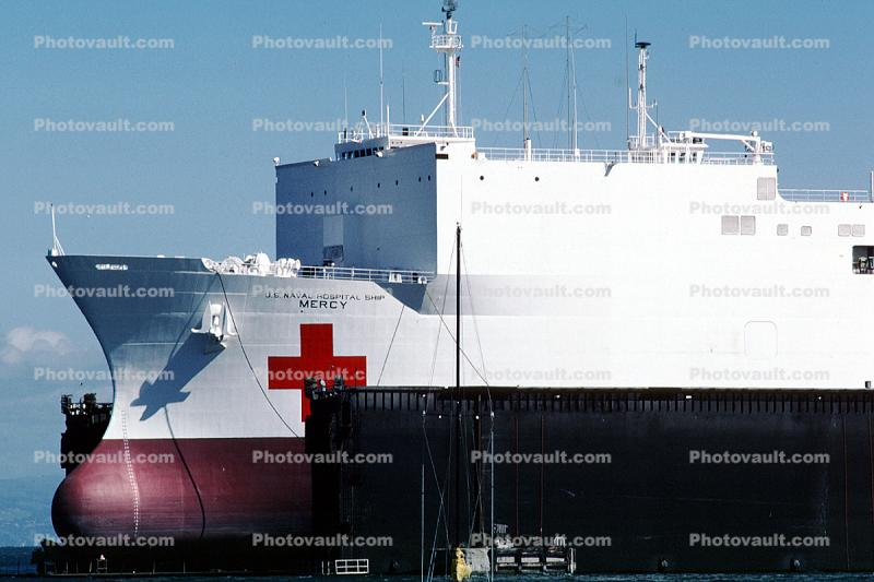 Bulbous Bow, Mercy Hospital Ship