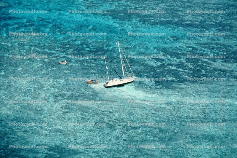 Water, Tropical, Pacific Ocean, Barrier Reef, Yacht, Coral Reef
