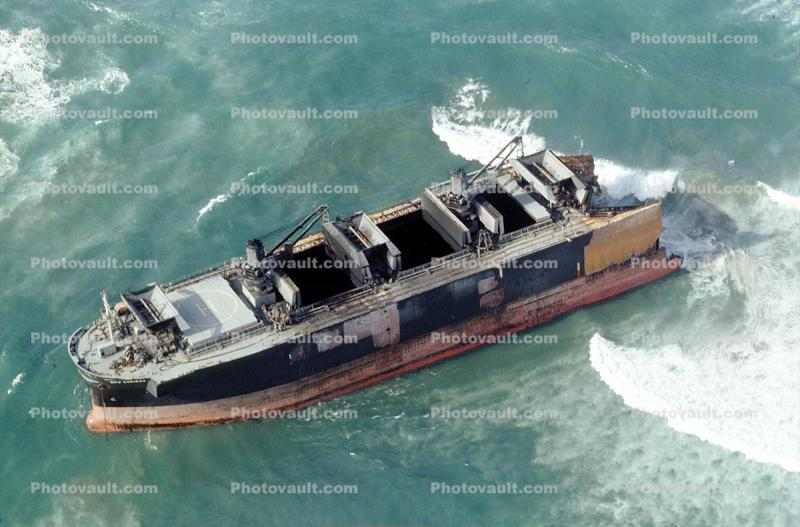 New Carissa, dry bulk freighter, Coos Bay, Oregon, grounded ship