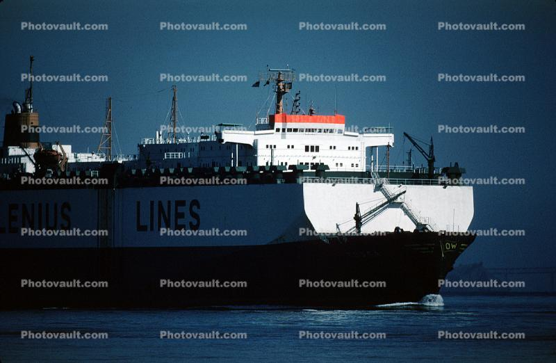 Wallenius Lines, RoRo, Ro-Ro, Tosca, Vehicle Carrier, IMO: 7708833