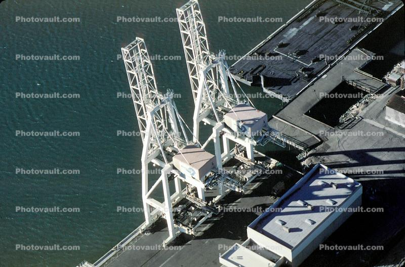 Gantry Crane, Dock, Harbor