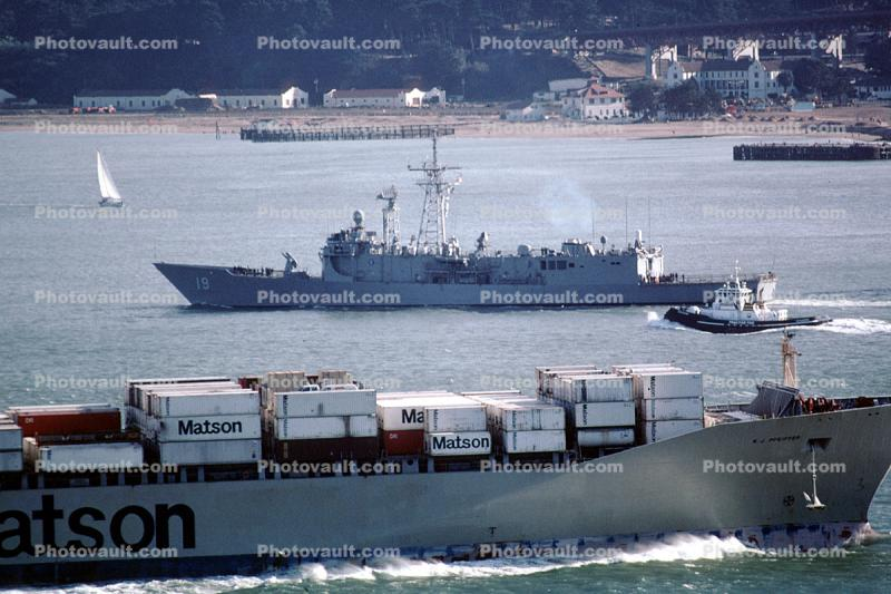 MV R. J. Pfeiffer, Matson Line, Containership, IMO: 9002037