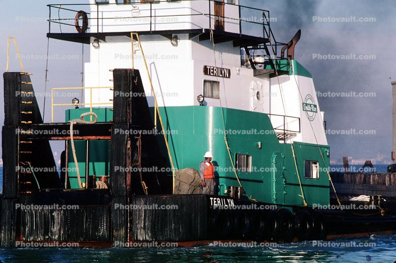 TERILYN, Pusher Tug, Tugboat, MMSI: 366906350