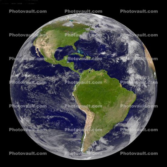 global, water, round, North America, South America, the Americas, artistic globe, land masses, the Western Hemisphere