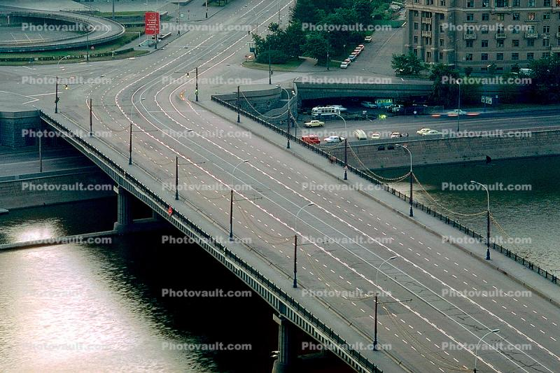 Moscow River, Road, street, lanes