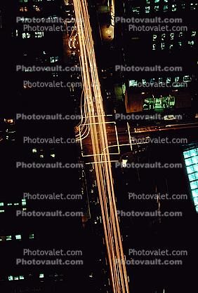Nightime, Night, road, intersection