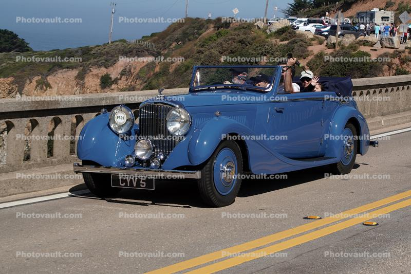1936 Bentley 4.5 Litre James Young Drophead Coupe