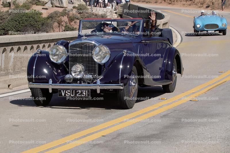 1939 Bentley 4.5 Litre Park Ward Drophead Coupe