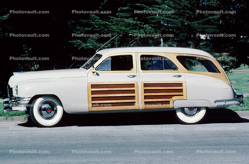 wood panel, 1950 Packard Eight, Woody, Woodie Station Wagon
