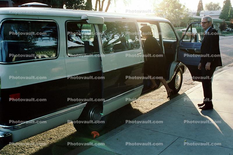 VanPool, Pleasanton, Dodge van