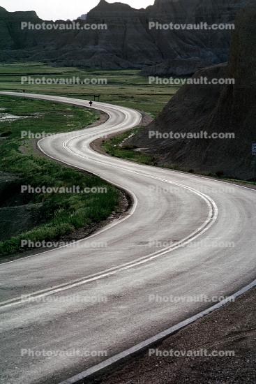 S-Curve, Highway, Roadway, Road
