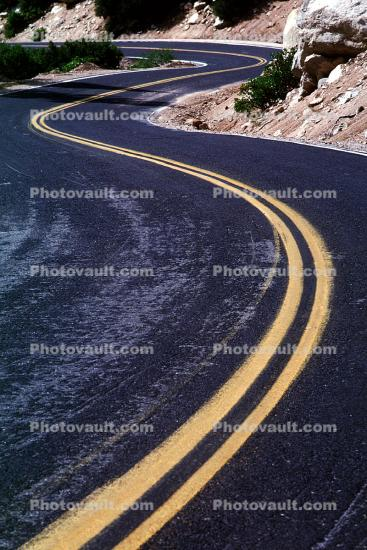 S-Curve, west of Death Valley, Highway, Roadway, Road