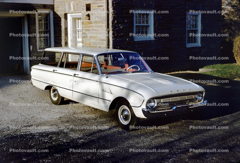 Ford Falcon Station Wagon Car April 1961 1960 S Images