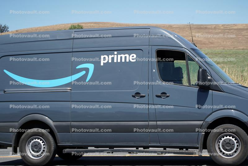 Amazon Prime Delivery Van, Mercedes-Benz