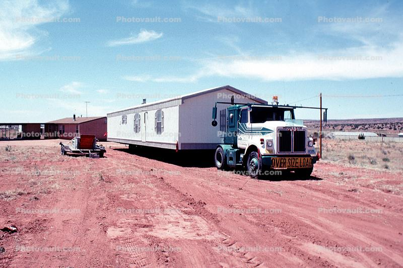 Trailer Home, Wide Load, Oversize, Zuni City