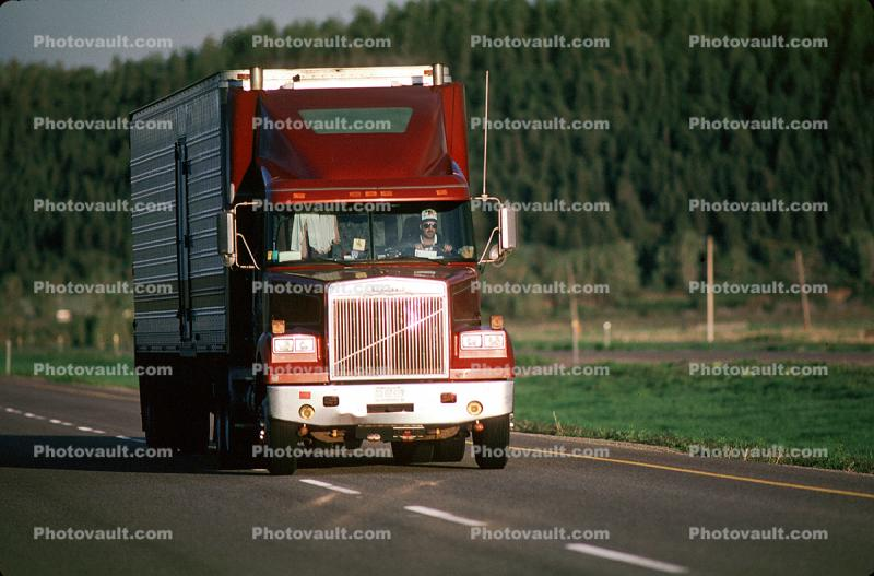 White Motor Company Tractor, Volvo, Interstate Highway I-90, Semi-trailer truck, Semi