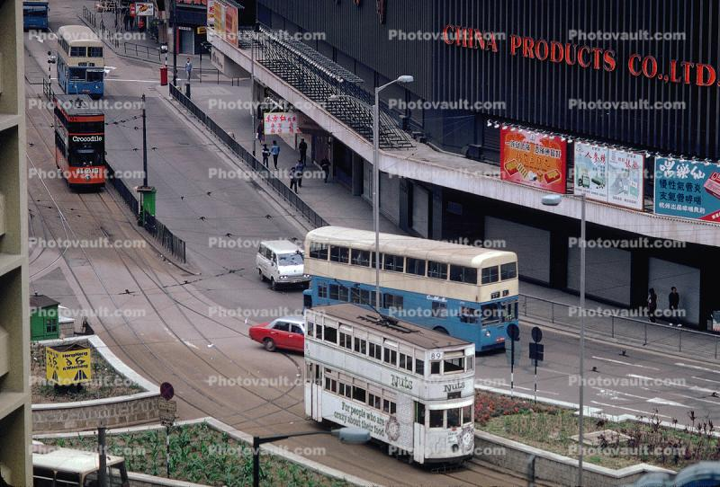 Doubledecker Trolley, 1982, 1980s